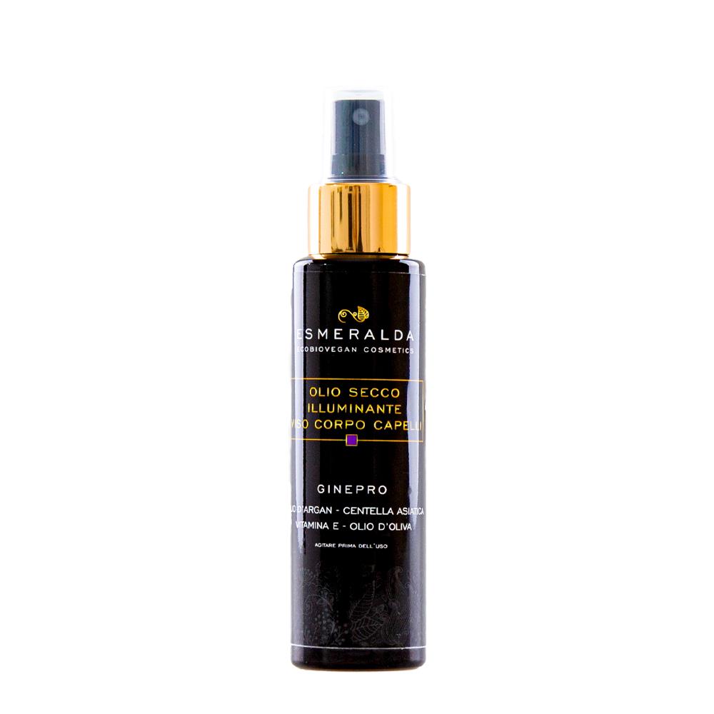 Dry body oil