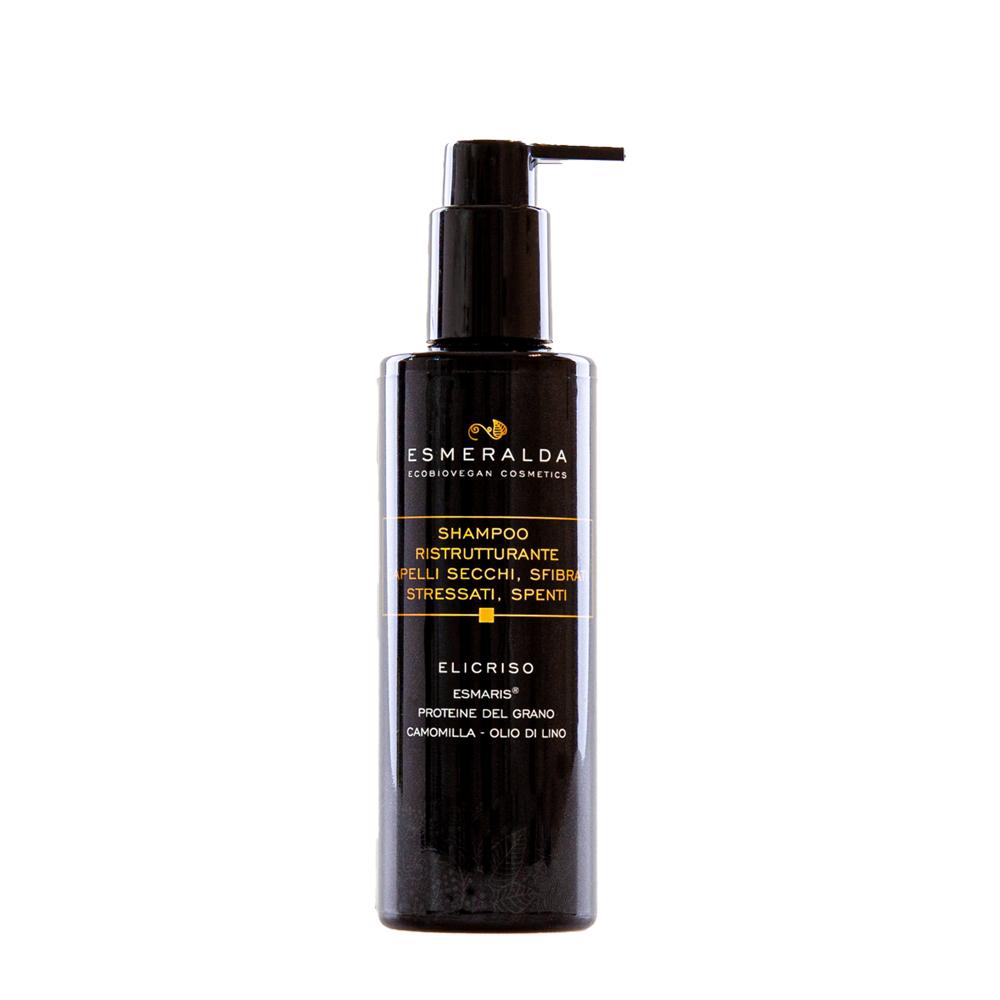 Shampoo ristrutturante capelli secchi, sfibrati stressati, spenti