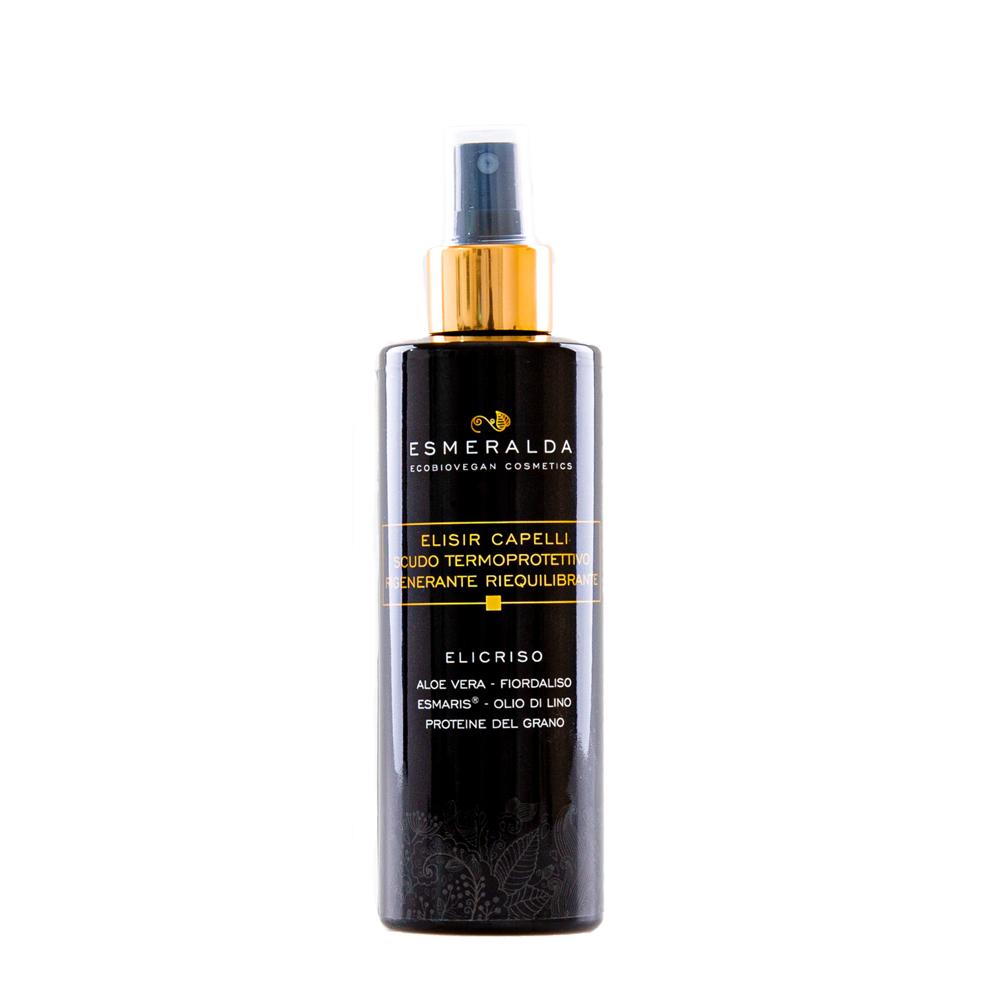 Elisir capelli scudo termoprotettivo rigenerante riequilibrante